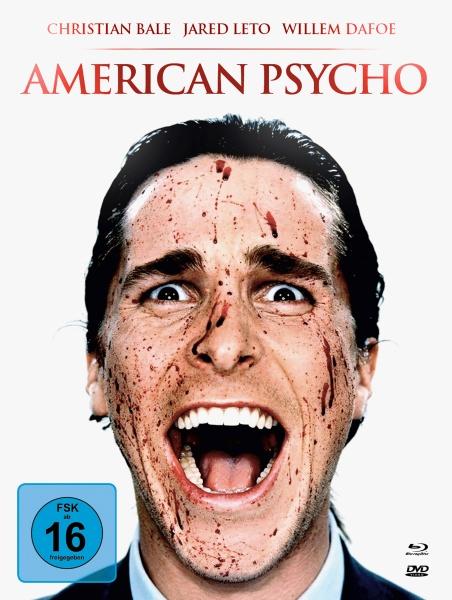American Psycho (Mediabook, 1 Blu-ray + 2 DVDs)