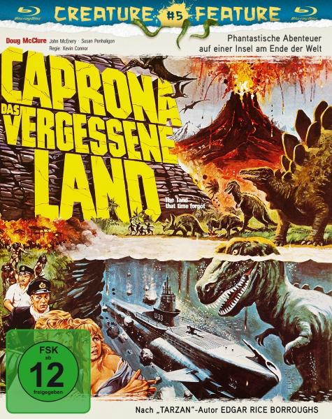 Caprona - Das vergessene Land (Blu-ray)