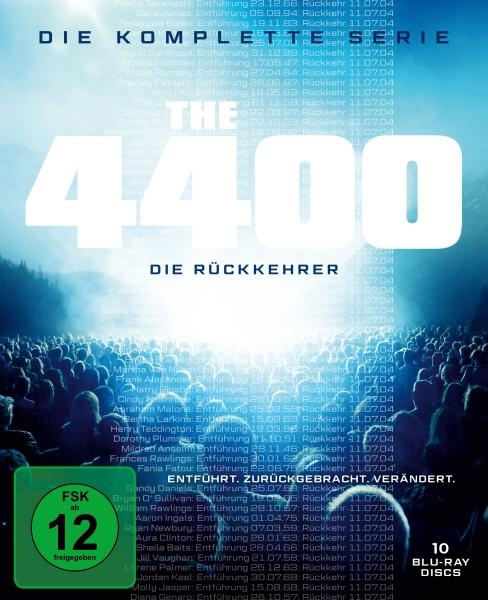 4400 - Die Rückkehrer - Die komplette Serie (14 Blu-rays)