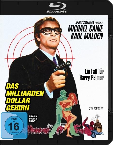 Das Milliarden Dollar Gehirn (Blu-ray)