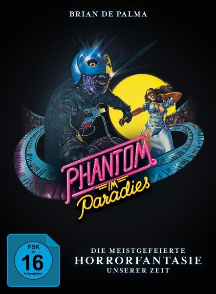 Phantom im Paradies - Phantom of the Paradise (Mediabook, Blu-ray+DVD) (Version B)