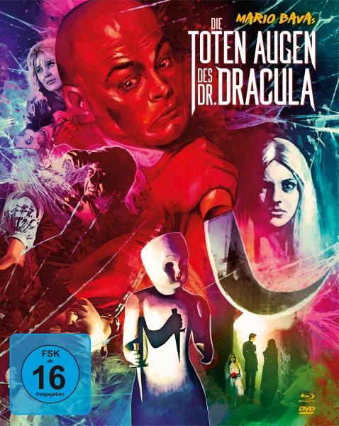 Die toten Augen des Dr. Dracula (Mediabook, 1 Blu-ray + 2 DVDs)