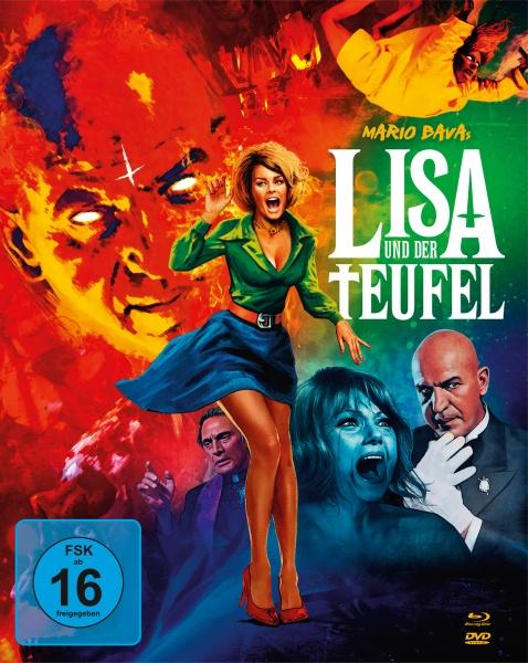 Lisa und der Teufel (Mediabook, 1 Blu-ray + 2 DVDs)
