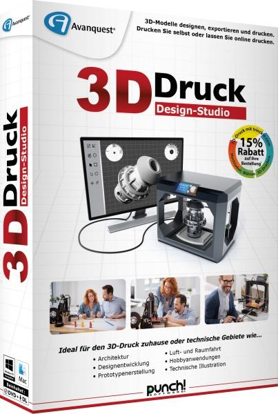 Koch Media > Software > PC/MAC > 3D-Druck Design-Studio