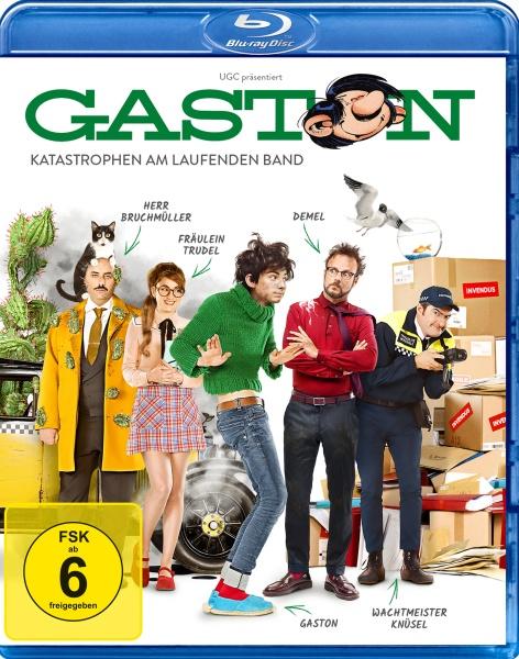 Gaston - Katastrophen am laufenden Band (Blu-ray)