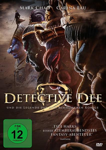 Detective Dee und die Legende der vier himmlischen Könige (DVD)