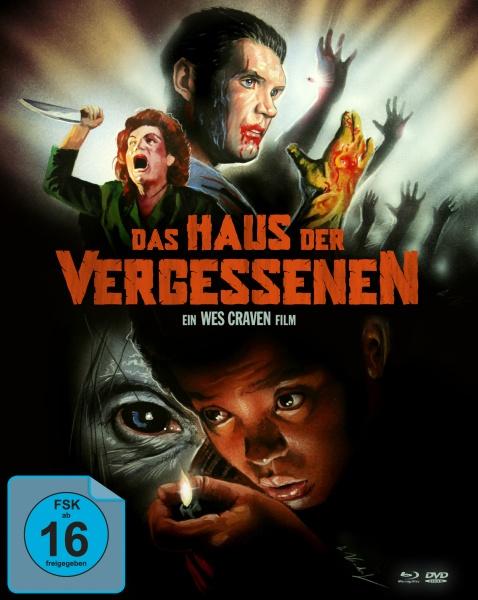 Das Haus der Vergessenen (Mediabook, 1 Blu-ray, 2 DVDs)
