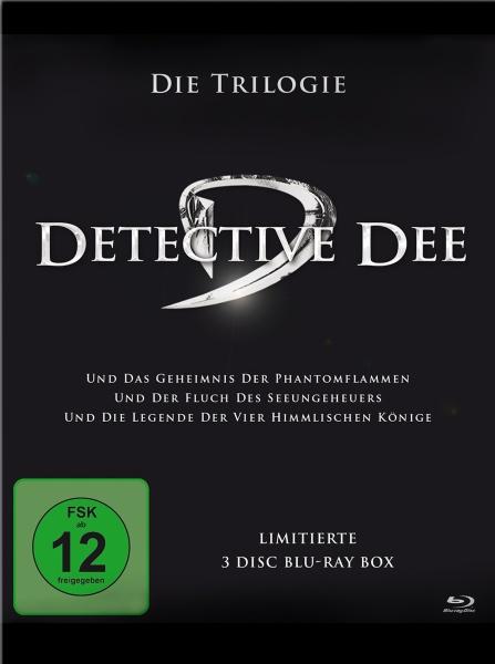 Detective Dee - Trilogiebox (3 Blu-rays)