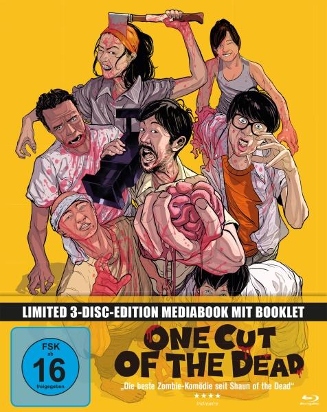 One Cut of the Dead (Mediabook, 1 Blu-ray + 2 DVDs)