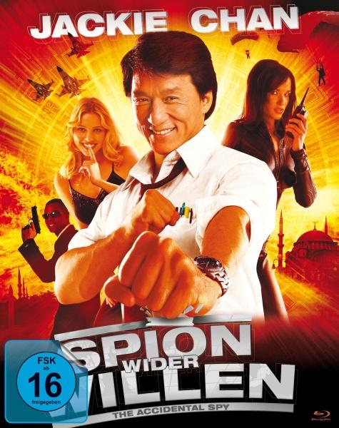 Jackie Chan: Spion Wider Willen (Mediabook, 2 Blu-rays)