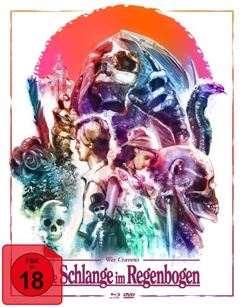 Die Schlange im Regenbogen (Wes Cravens) (Mediabook, 1 Blu-ray + 2 DVDs)