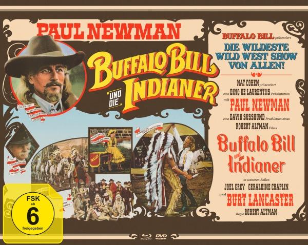 Buffalo Bill und die Indianer (Mediabook, Blu-ray+DVD)