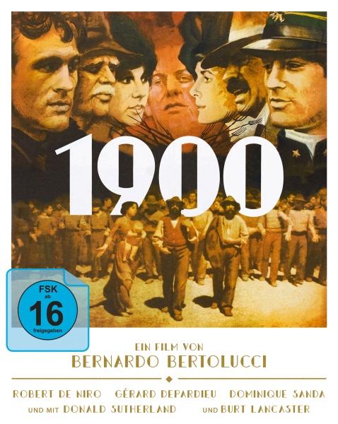1900 (Bernardo Bertolucci) (Mediabook, 3 Blu-rays)