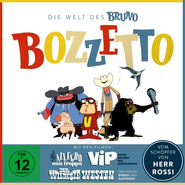 Die Welt des Bruno Bozzetto (4 DVDs)