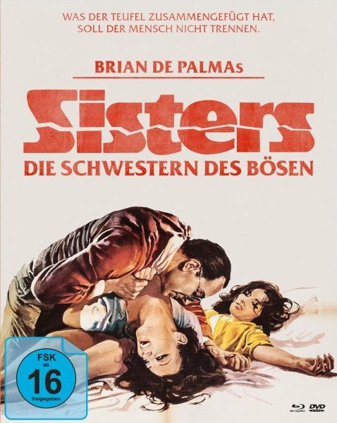 Sisters - Die Schwestern des Bösen (Mediabook, 1 Blu-ray + 2 DVDs)