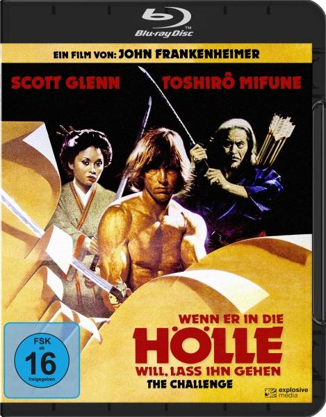 Wenn er in die Hölle will, lass ihn gehen (The Challenge) (Blu-ray)