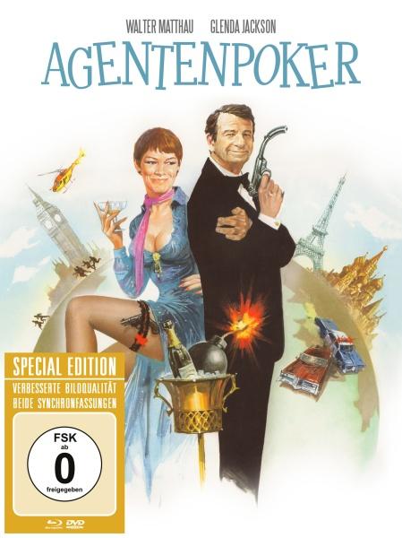 Agentenpoker (Special Edition, Blu-ray+DVD)