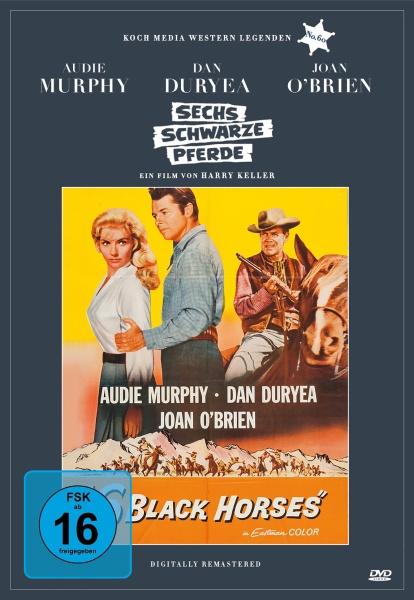 Sechs schwarze Pferde (Edition Western-Legenden #60) (DVD)