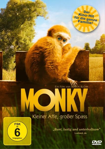 Monky - Kleiner Affe, großer Spass (DVD)