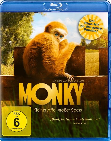 Monky - Kleiner Affe, großer Spass (Blu-ray)