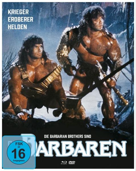 Die Barbaren (Mediabook B, 1 Blu-ray + 2 DVDs)