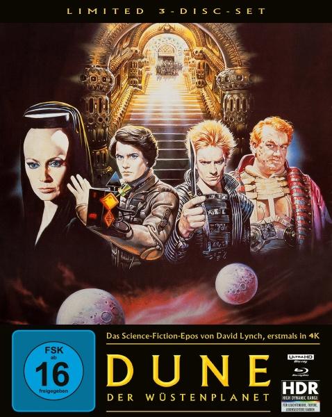 Dune - Der Wüstenplanet (Mediabook B, 4K-UHD + 2 Blu-rays)