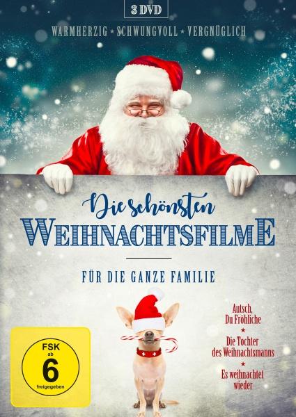 Die schönsten Weihnachtsfilme für die ganze Familie (3 DVDs)