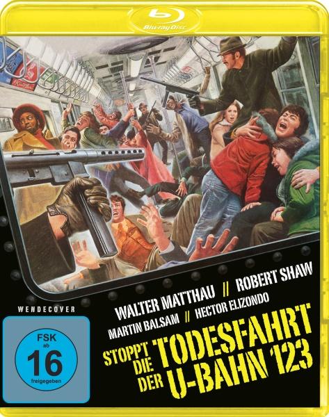 Stoppt die Todesfahrt der U-Bahn 123 (Blu-ray)