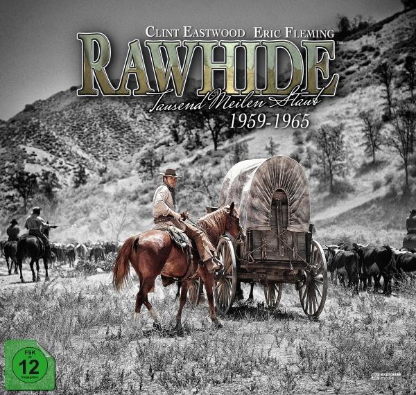 Rawhide - Tausend Meilen Staub - Die komplette Serie (59 DVDs + 1 Blu-ray)