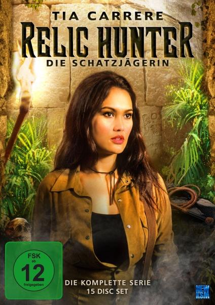 Relic Hunter - Die Schatzjägerin - Gesamtbox (15 DVDs)