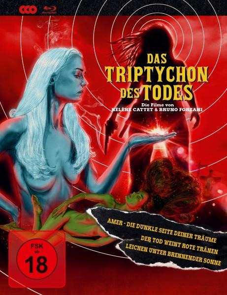 Das Triptychon des Todes - Mediabook (3 Blu-rays)