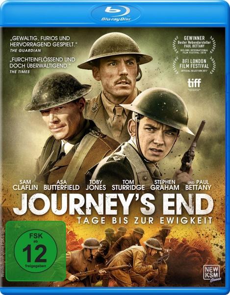 Journey's End - Tage bis zur Ewigkeit (Blu-ray)