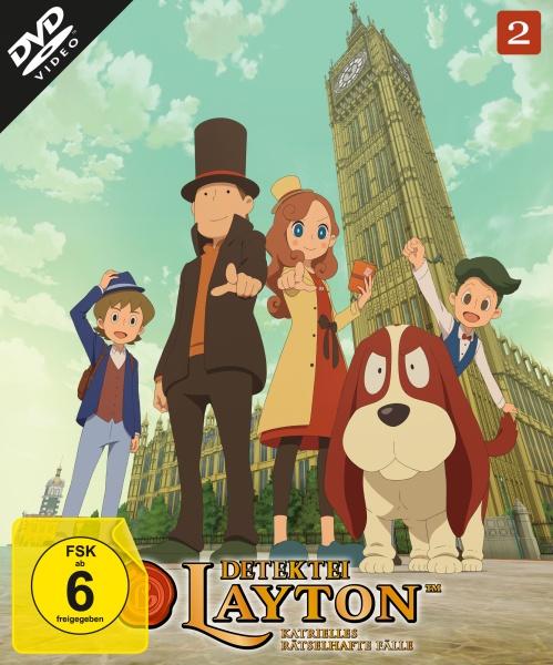 Detektei Layton - Katrielles rätselhafte Fälle: Volume 2 (2 DVDs)