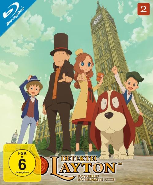 Detektei Layton - Katrielles rätselhafte Fälle: Volume 2 (2 Blu-rays)