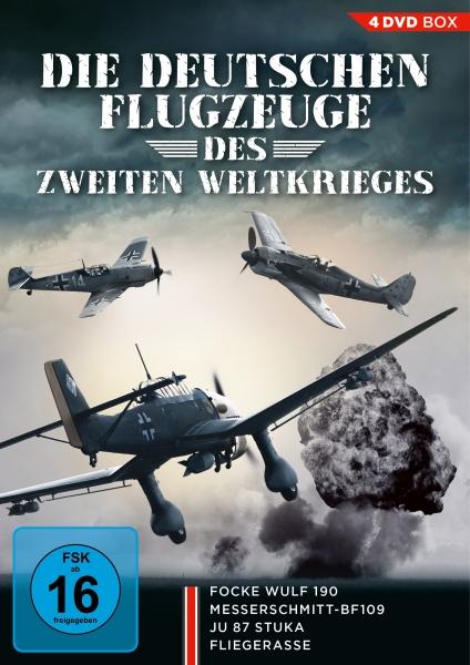 Die deutschen Flugzeuge des Zweiten Weltkrieges (4 DVDs)