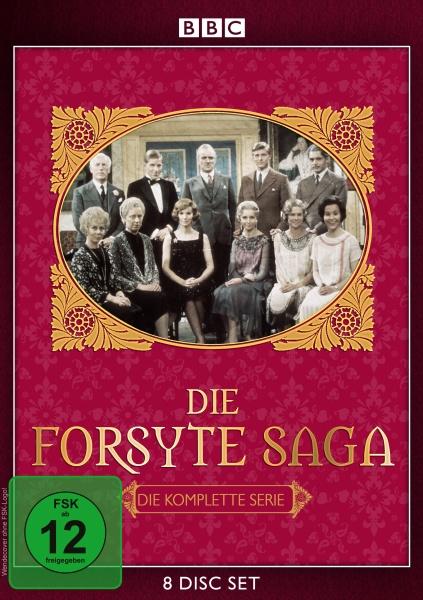 Die Forsyte Saga - Die komplette Serie - New Edition (8 DVDs)
