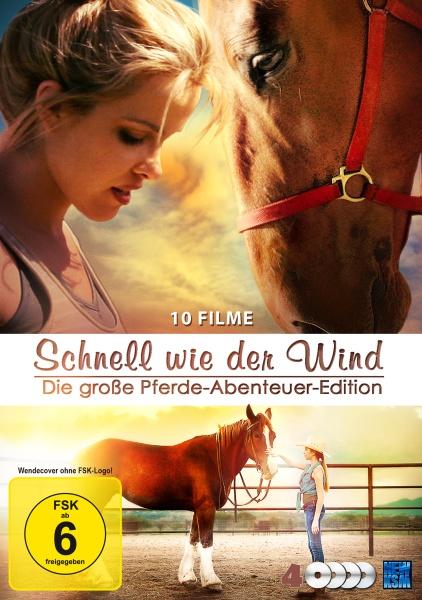 Schnell wie der Wind - Die große Pferde-Abenteuer-Edition - 10 Filme Edition (4 DVDs)
