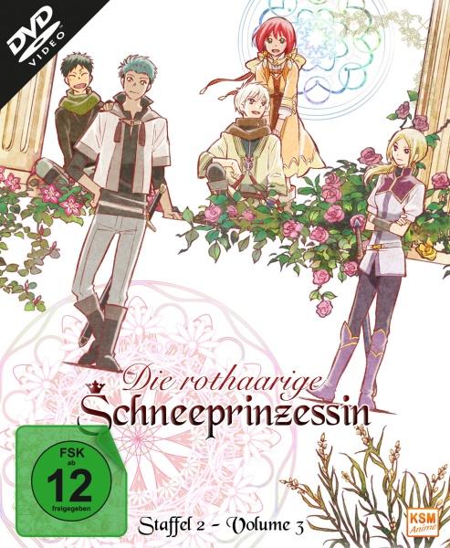 Die rothaarige Schneeprinzessin - Staffel 2, Volume 3: Episode 09-12 (DVD)