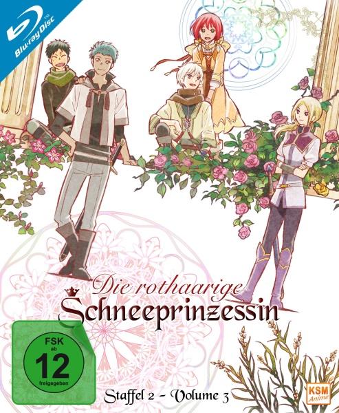 Die rothaarige Schneeprinzessin - Staffel 2, Volume 3: Episode 09-12 (Blu-ray)