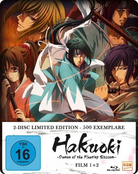 Hakuoki - Demon of the Fleeting Blossom - Wild Dance of Kyoto & Warrior Spirit of the Blue Sky The Movie 1+2 (2 Blu-rays)