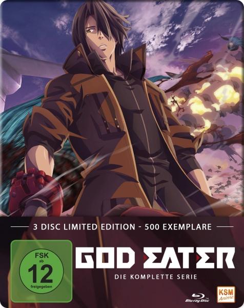 God Eater - Gesamtedition - Episode 01-13 (3 Blu-rays)