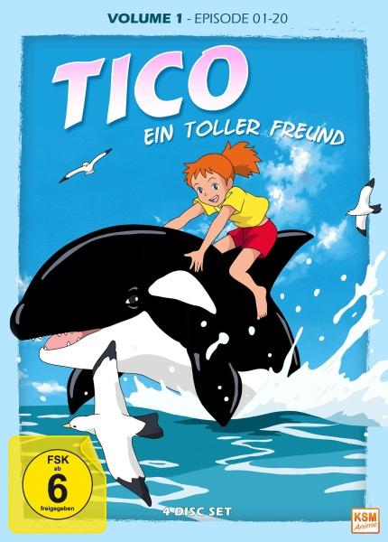 Tico - Ein toller Freund - Volume 1: Episode 01-20 (4 DVDs)