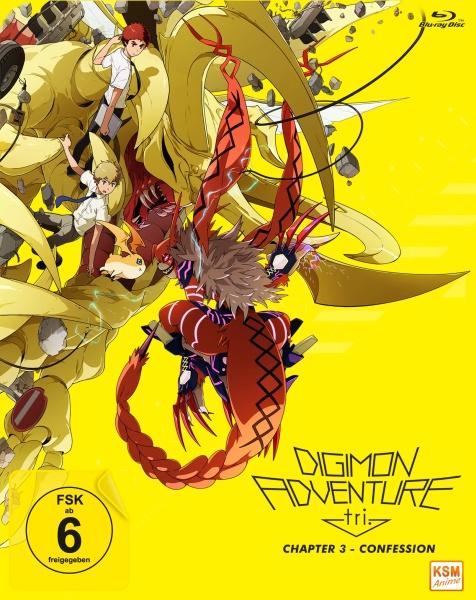 Digimon Adventure tri. - Confession Chapter 3 (Blu-ray)