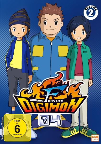Digimon Frontier - Volume 2 - Episode 18-34 (3 DVDs)