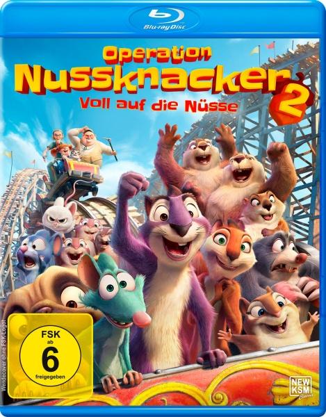 Operation Nussknacker 2 - Voll auf die Nüsse (Blu-ray)