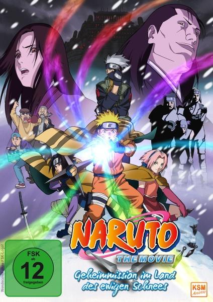Naruto - Geheimmission im Land des ewigen Schnees - The Movie (DVD)