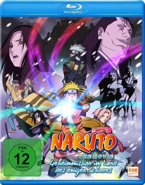 Naruto - Geheimmission im Land des ewigen Schnees - The Movie (Blu-ray)