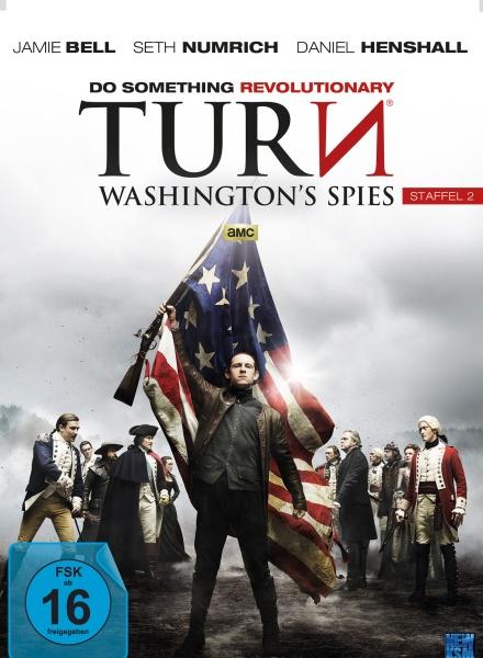 Turn - Washington´s Spies - Staffel 2 (10 Folgen) (4 DVDs)