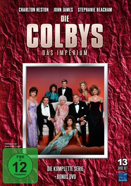 Die Colbys - Das Imperium - Gesamtedion: Staffel 1+2+Bonus DVD (13 DVDs)