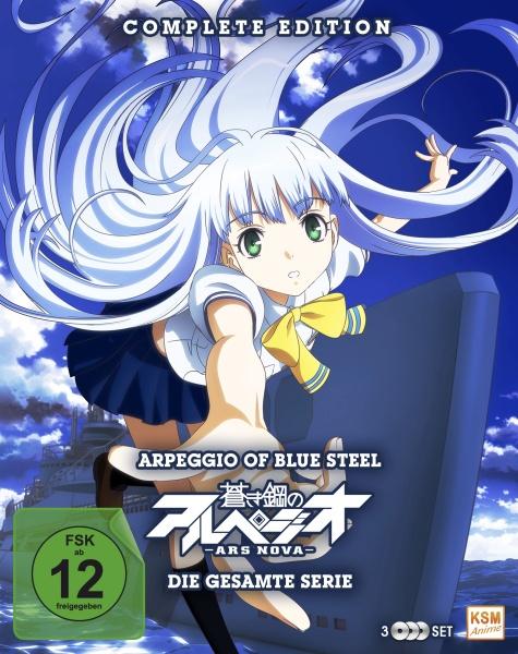 Arpeggio of Blue Steel: Ars Nova - Complete Edition (12 Folgen) (3 Blu-rays)